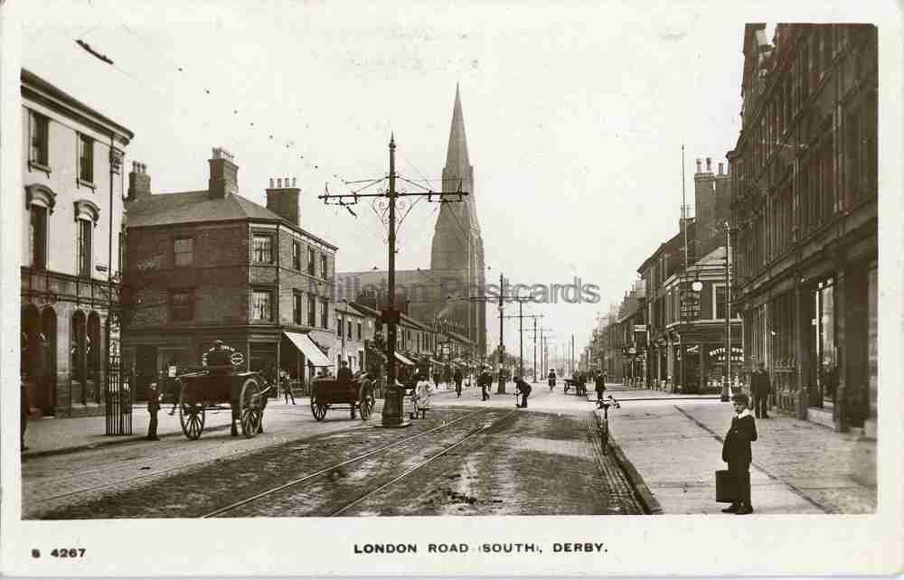 DERBY, LONDON ROAD (SOUTH) - Millston Postcards